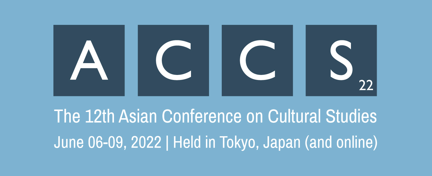 The 12th Asian Conference on Cultural Studies (ACCS2022) Logo